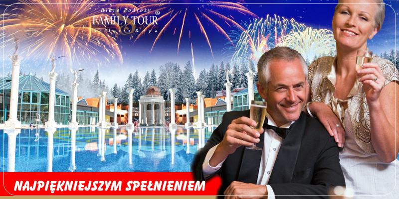 VIP Sylwester w kurorcie wód termalnych Afrodyta na Słowacji